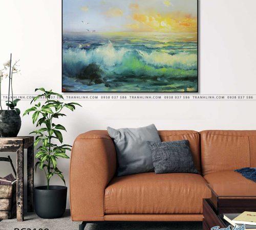 tranh canvas phong canh 3109