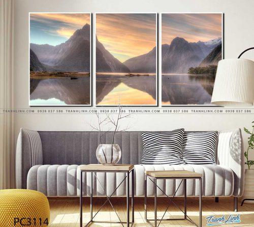 tranh canvas phong canh 3114