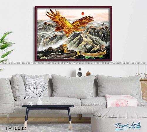 tranh canvas chim dai bang 11