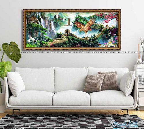 tranh canvas chim dai bang 12
