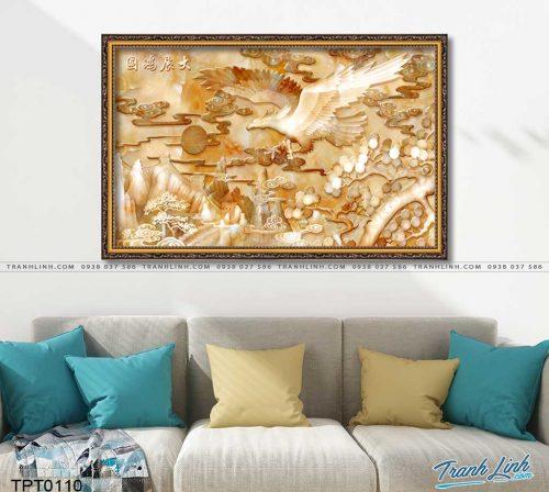 tranh canvas chim dai bang 22