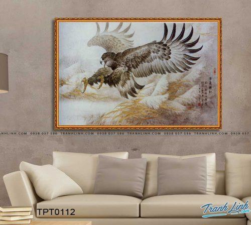 tranh canvas chim dai bang 23