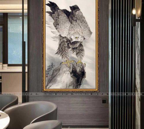tranh canvas chim dai bang 39