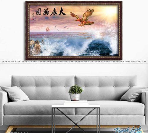 tranh canvas chim dai bang 41