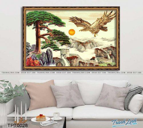 tranh canvas chim dai bang 8