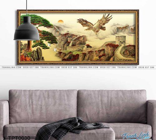 tranh canvas chim dai bang 9