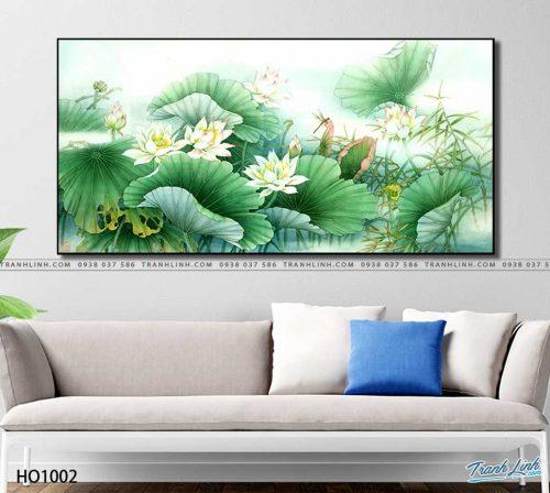 tranh canvas hoa 1002