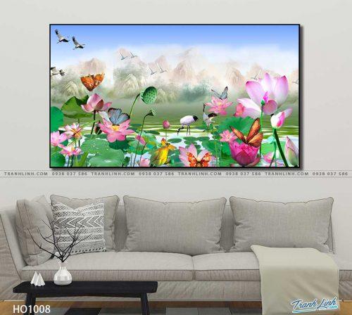 tranh canvas hoa 1008