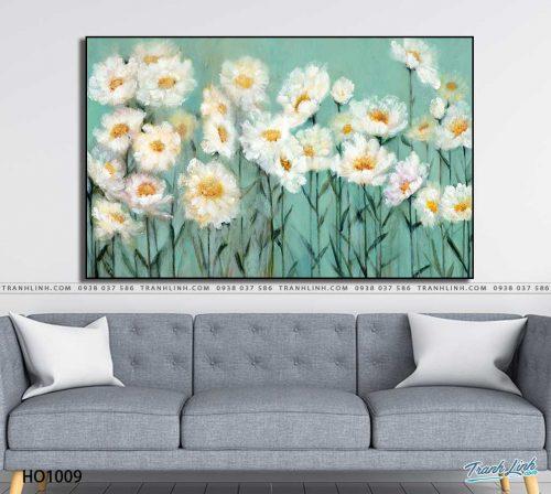 tranh canvas hoa 1009