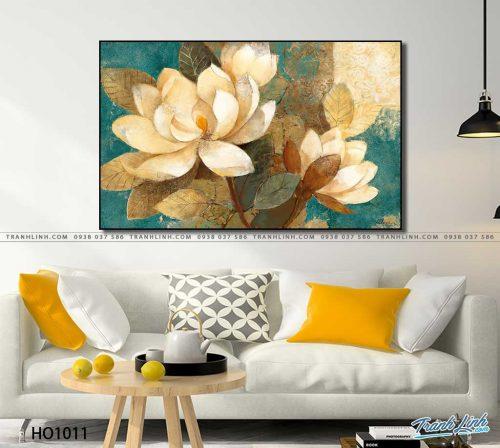tranh canvas hoa 1011