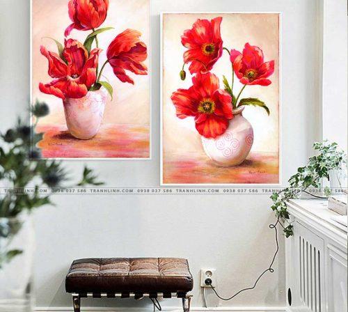 tranh canvas hoa 1013