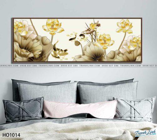 tranh canvas hoa 1014