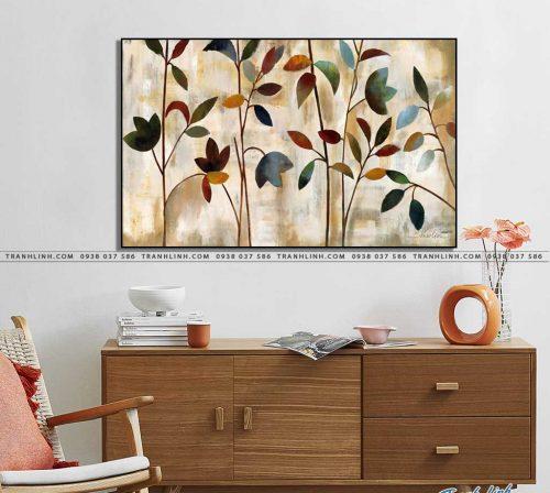 tranh canvas hoa 1018