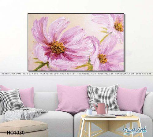 tranh canvas hoa 1030