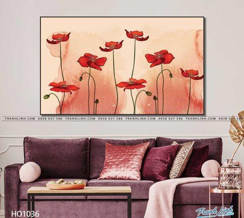 tranh canvas hoa 1036