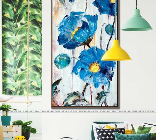 tranh canvas hoa 1037