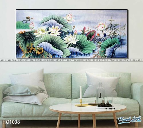 tranh canvas hoa 1038