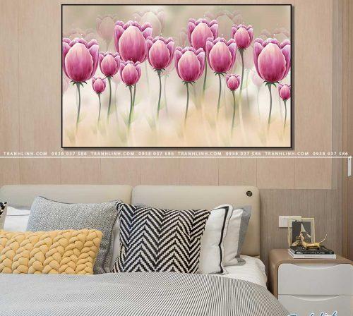 tranh canvas hoa 1040