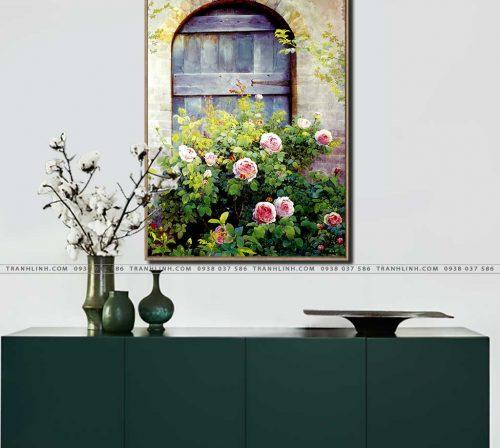 tranh canvas hoa 1042
