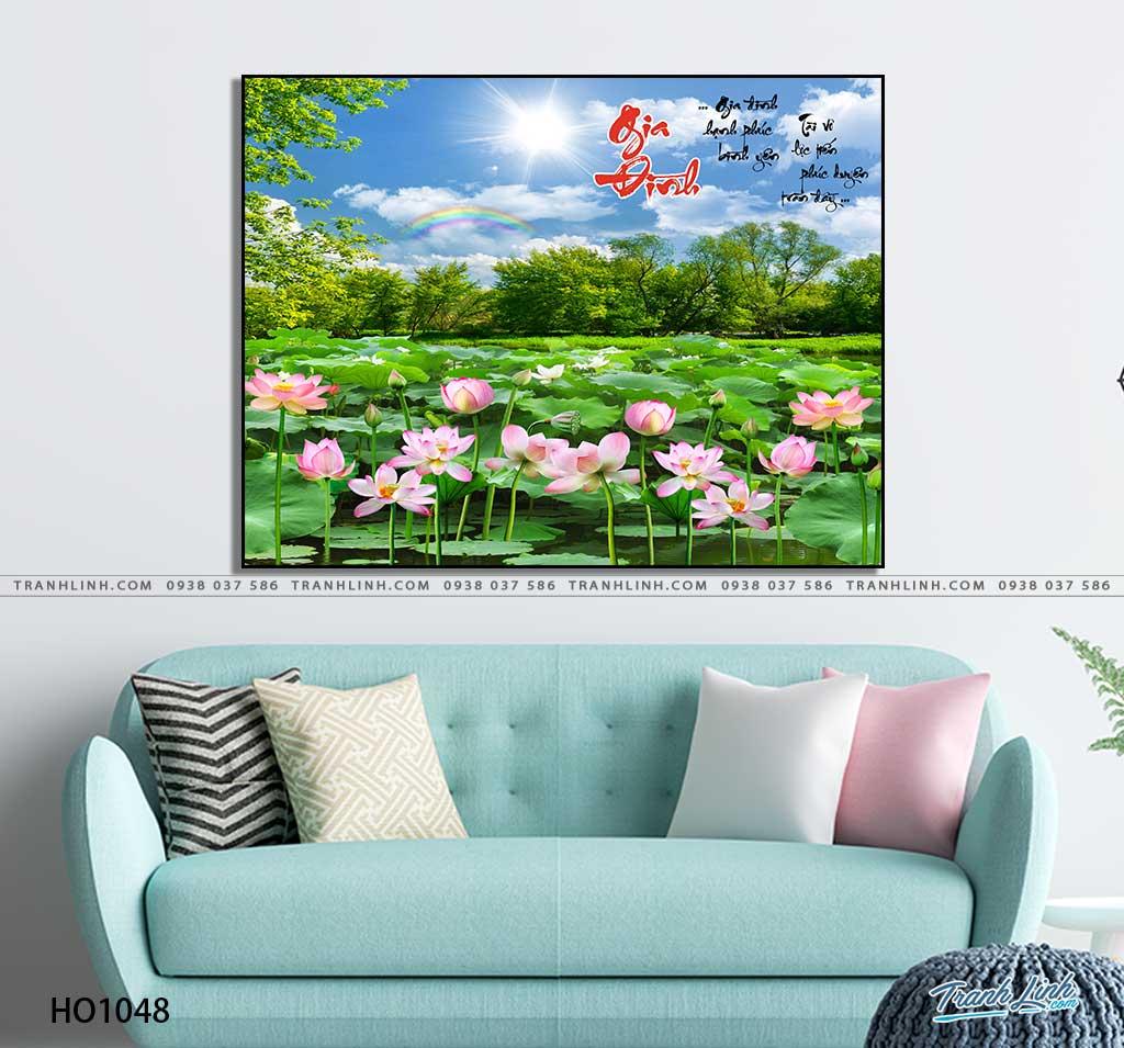 tranh canvas hoa 1048