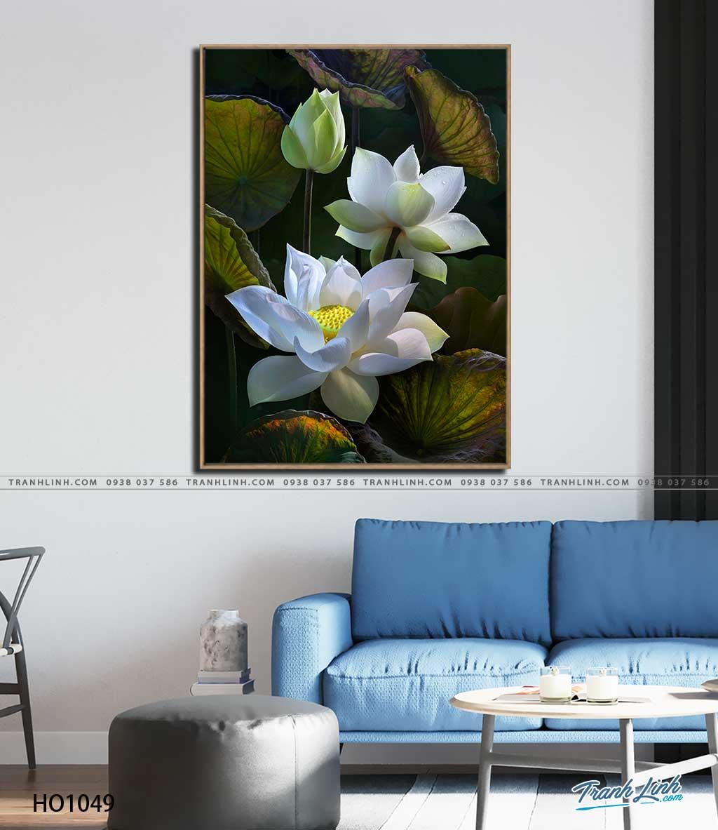 tranh canvas hoa 1049