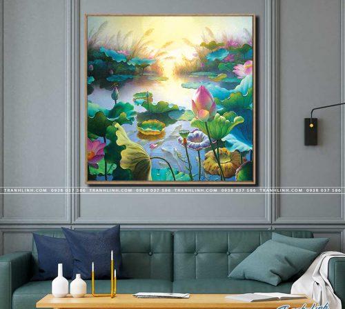 tranh canvas hoa 1059