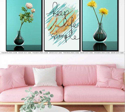 tranh canvas hoa 1062