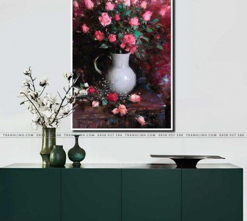 tranh canvas hoa 1068
