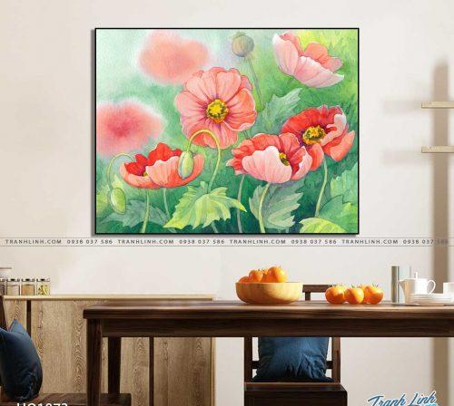 tranh canvas hoa 1073