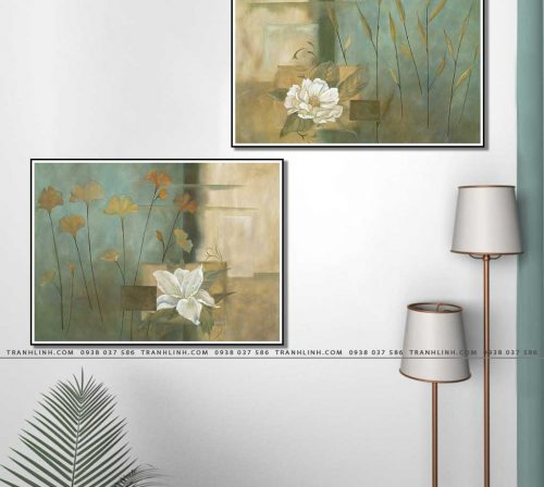 tranh canvas hoa 1082
