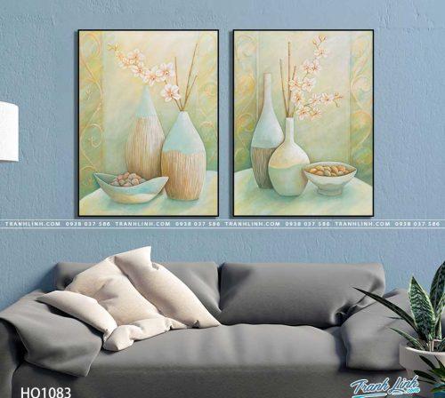 tranh canvas hoa 1083