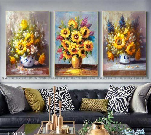 tranh canvas hoa 1088