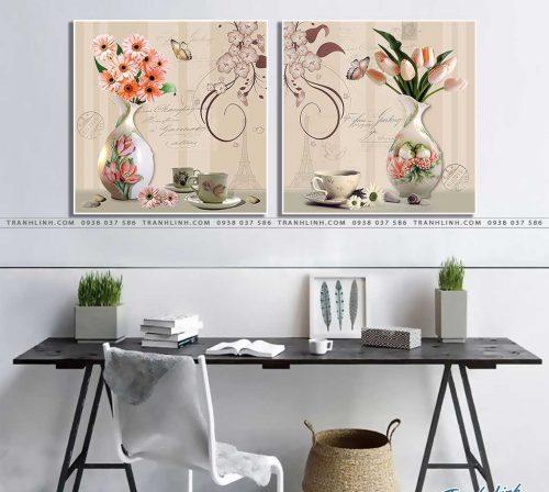 tranh canvas hoa 1092