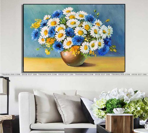 tranh canvas hoa 1095