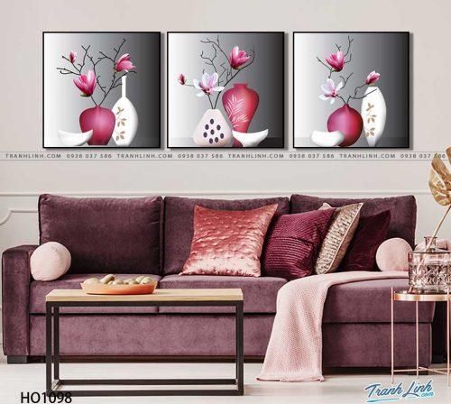 tranh canvas hoa 1098