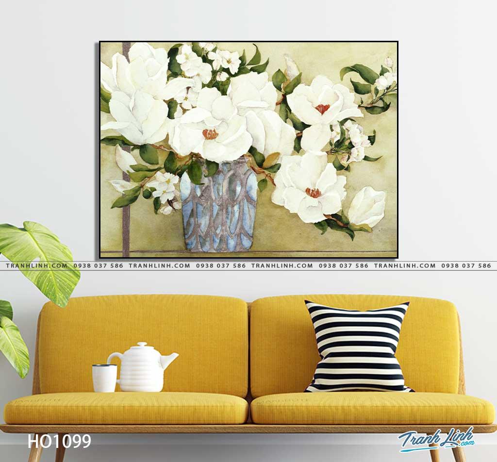 tranh canvas hoa 1099