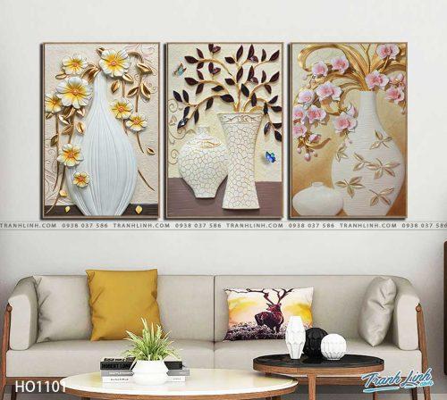 tranh canvas hoa 1101