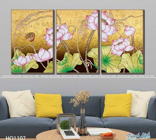 tranh canvas hoa 1107