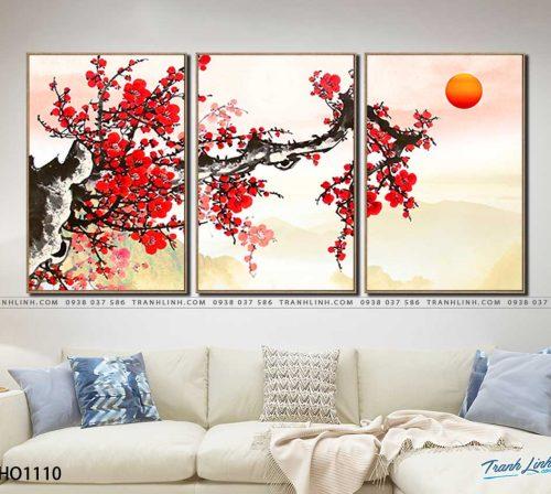 tranh canvas hoa 1110