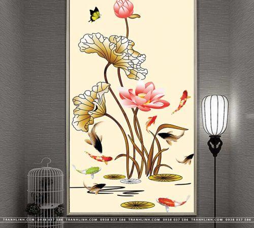 tranh canvas hoa 1112