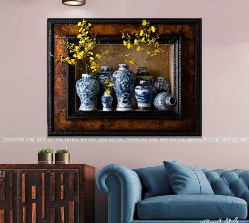tranh canvas hoa 1115