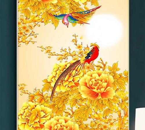 tranh canvas hoa 1117