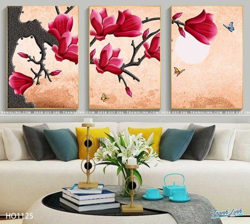 tranh canvas hoa 1125