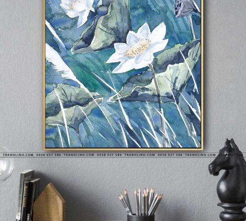 tranh canvas hoa 1127