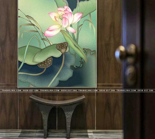 tranh canvas hoa 1132