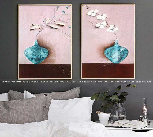 tranh canvas hoa 1138