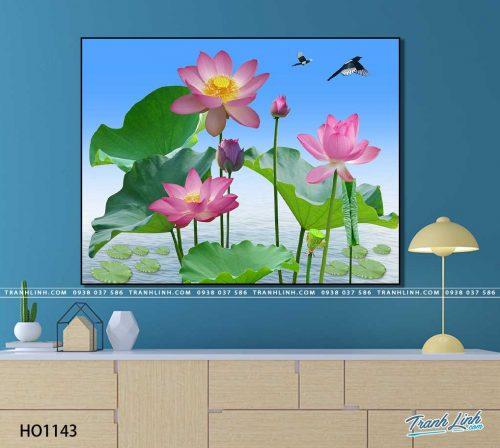 tranh canvas hoa 1143