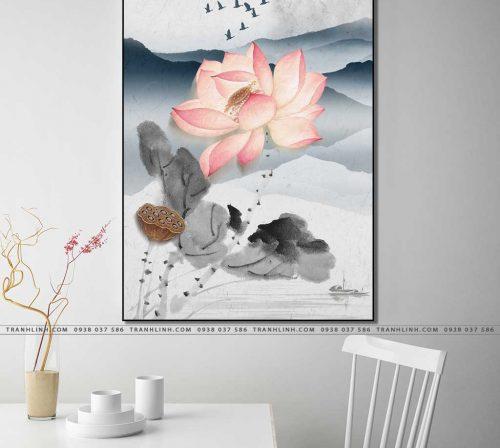 tranh canvas hoa 1151