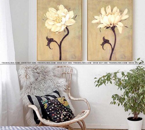 tranh canvas hoa 1161