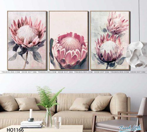 tranh canvas hoa 1166